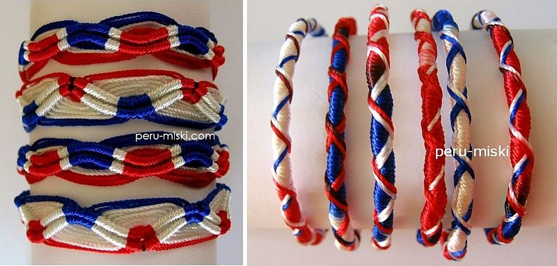 Red White Blue Bracelet Best Bracelets