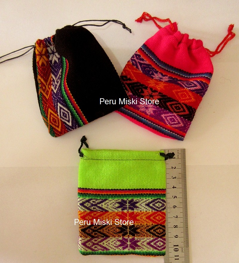 Pouches from Peru